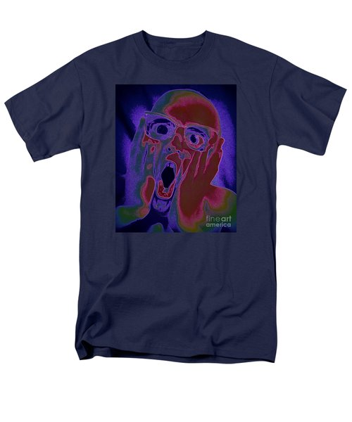 Scared Silly Men's T-Shirt  (Regular Fit) by Paul  Wilford