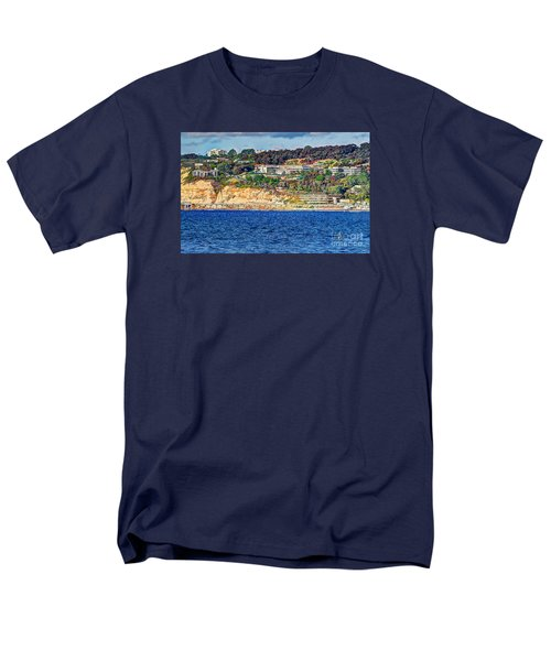 Men's T-Shirt  (Regular Fit) featuring the photograph Scripps Institute Of Oceanography by Jim Carrell