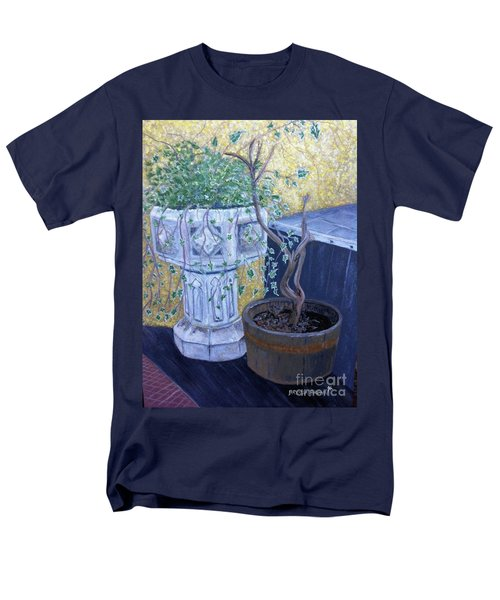 Sean's Planter Men's T-Shirt  (Regular Fit) by Brenda Brown