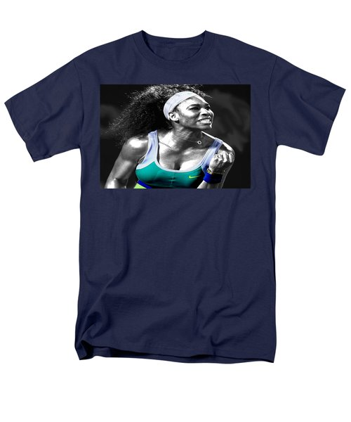 Serena Williams Ace Men's T-Shirt  (Regular Fit) by Brian Reaves