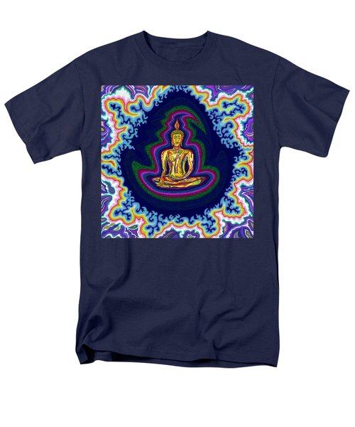 Seventh Heaven Buddha Men's T-Shirt  (Regular Fit) by Robert SORENSEN