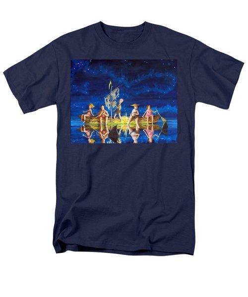 Ship Of Fools Men's T-Shirt  (Regular Fit) by Matt Konar