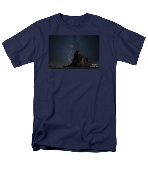 Shiprock Men's T-Shirt  (Regular Fit) by Keith Kapple