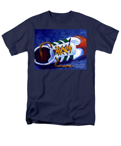 Men's T-Shirt  (Regular Fit) featuring the painting Shoeless by Jackie Carpenter