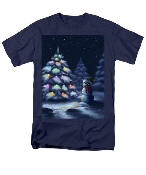 Silent Night Men's T-Shirt  (Regular Fit) by Veronica Minozzi