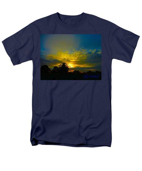 Silken Sunset Men's T-Shirt  (Regular Fit) by Mark Blauhoefer