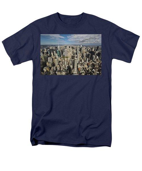 Men's T-Shirt  (Regular Fit) featuring the photograph Sim City by Mihai Andritoiu
