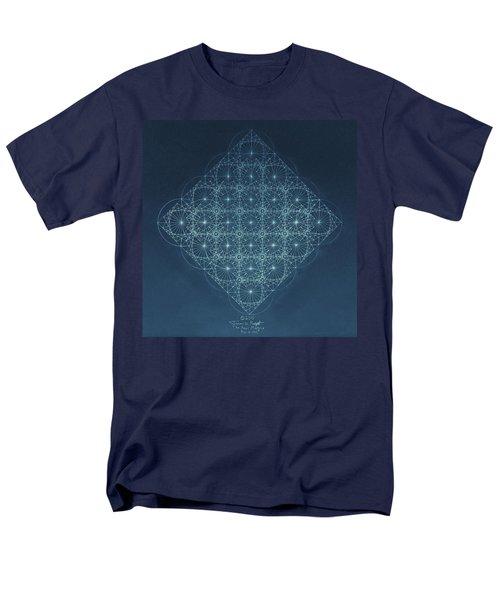 Sine Cosine And Tangent Waves Men's T-Shirt  (Regular Fit) by Jason Padgett
