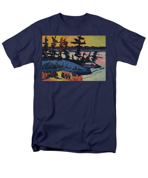 Singleton Sunset Men's T-Shirt  (Regular Fit) by Phil Chadwick
