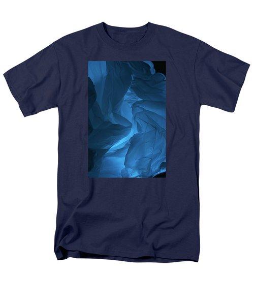 Skc 0247 A Mystery In Blue Men's T-Shirt  (Regular Fit) by Sunil Kapadia