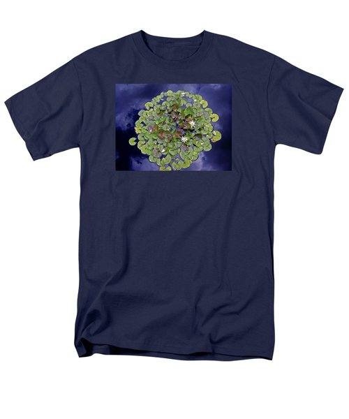Sky Lilies Men's T-Shirt  (Regular Fit) by Zafer Gurel