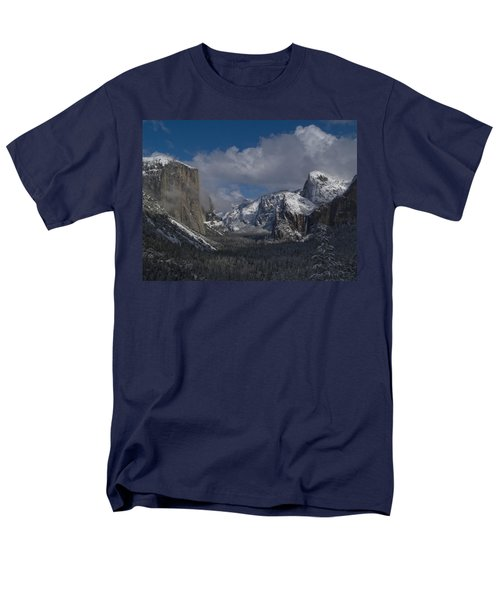 Snow Kissed Valley Men's T-Shirt  (Regular Fit) by Bill Gallagher