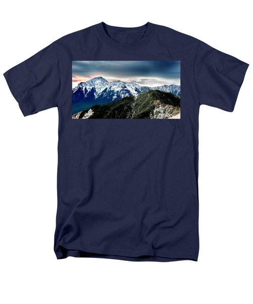 Snow Mountain Men's T-Shirt  (Regular Fit) by Yew Kwang
