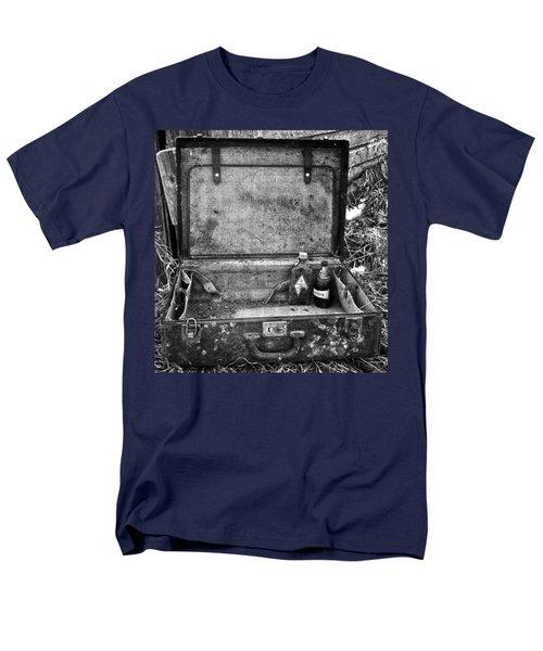 Sober Travels  Men's T-Shirt  (Regular Fit) by Jerry Cordeiro