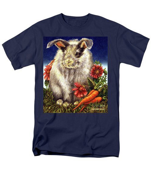 Some Bunny Is A Fuzzy Wuzzy Men's T-Shirt  (Regular Fit) by Linda Simon