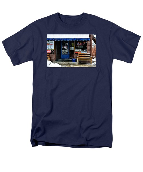 Sorry We're Open Men's T-Shirt  (Regular Fit) by Mike Martin