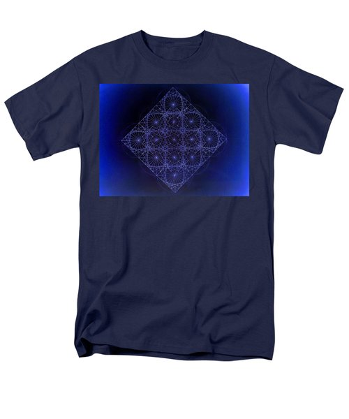 Space Time Sine Cosine And Tangent Waves Men's T-Shirt  (Regular Fit) by Jason Padgett
