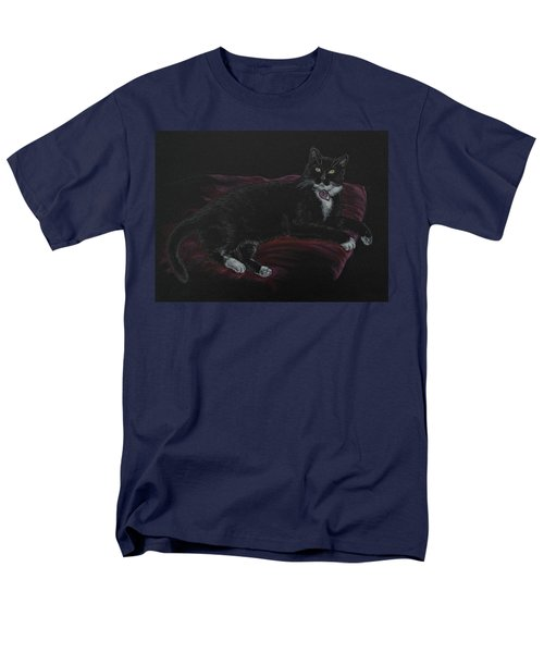 Spooky The Cat Men's T-Shirt  (Regular Fit) by Michele Myers