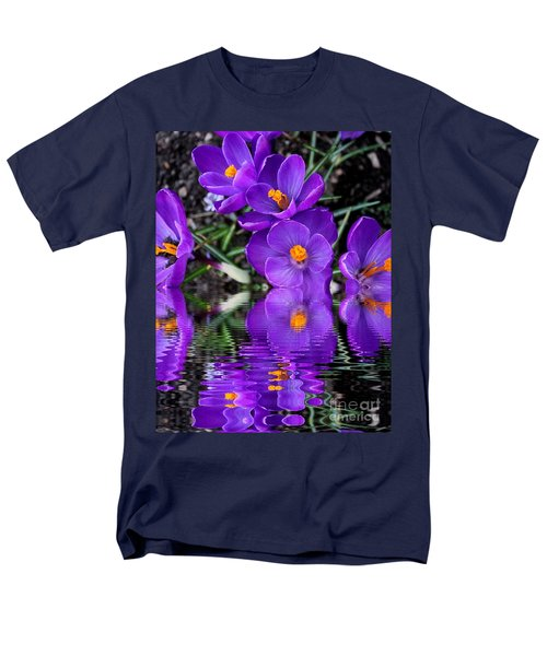 Men's T-Shirt  (Regular Fit) featuring the photograph Spring Reflection by Judy Palkimas