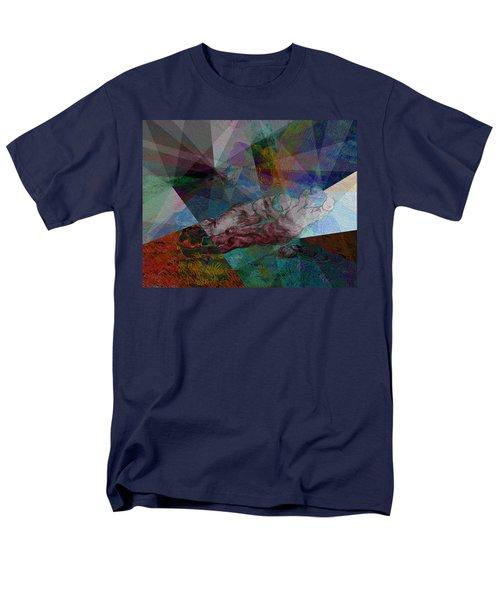 Stain Glass I Men's T-Shirt  (Regular Fit) by David Bridburg