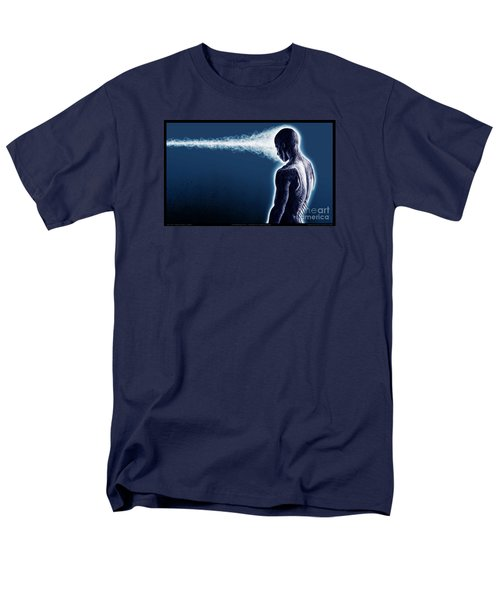 Standing Still Thoughts Proceeding Men's T-Shirt  (Regular Fit) by Tony Koehl