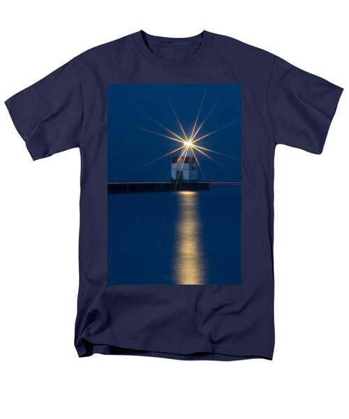 Star Bright Men's T-Shirt  (Regular Fit)