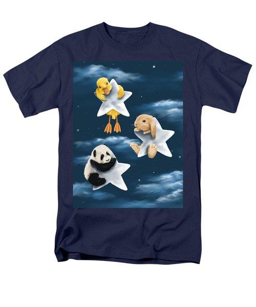 Star Games Men's T-Shirt  (Regular Fit) by Veronica Minozzi