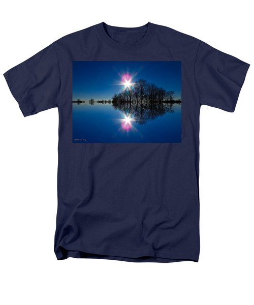 Starflection Men's T-Shirt  (Regular Fit) by Nick Kirby