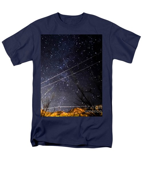 Stars Drunk On Lightpaint Men's T-Shirt  (Regular Fit) by Angela J Wright