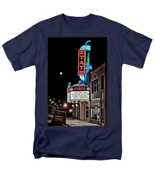 Men's T-Shirt  (Regular Fit) featuring the photograph State Theater by Jim Thompson