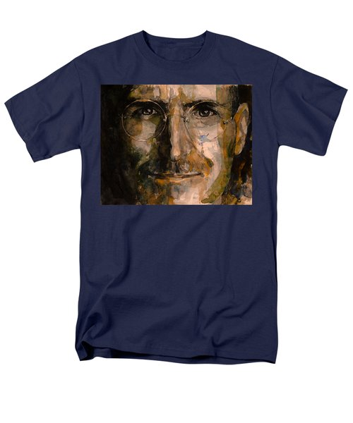 Men's T-Shirt  (Regular Fit) featuring the painting Steve... by Laur Iduc