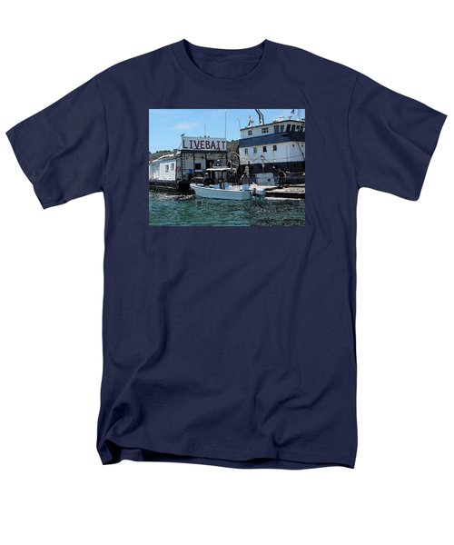Stocking Up On Live Bait Men's T-Shirt  (Regular Fit) by Cedric Hampton