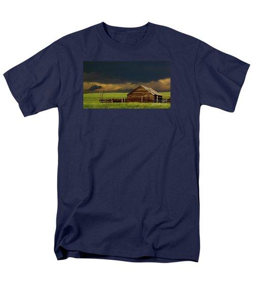 Storm Crossing Prairie 2 Men's T-Shirt  (Regular Fit) by Robert Frederick