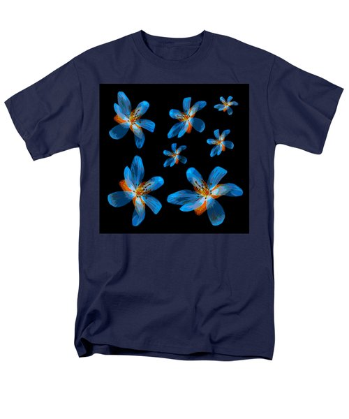 Study Of Seven Flowers #2 Men's T-Shirt  (Regular Fit) by Ari Salmela