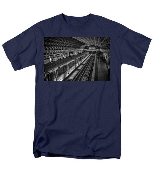 Subway Train Men's T-Shirt  (Regular Fit) by Lynn Palmer