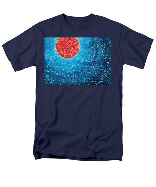 Summer Sun Original Painting Men's T-Shirt  (Regular Fit) by Sol Luckman