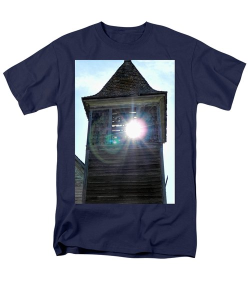Sun Through The Steeple-by Cathy Anderson Men's T-Shirt  (Regular Fit) by Cathy Anderson