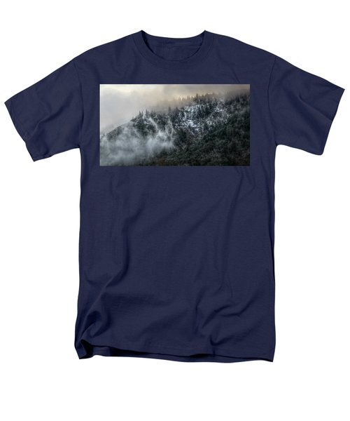 Men's T-Shirt  (Regular Fit) featuring the photograph Sunrise In The Clouds by Melanie Lankford Photography