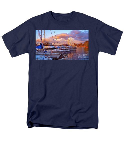 Sunset Before The Show Men's T-Shirt  (Regular Fit) by Gem S Visionary