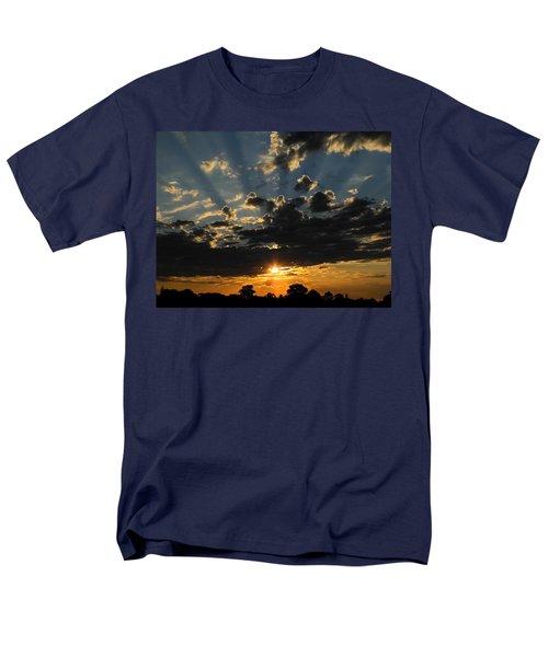 Dark Sunset Men's T-Shirt  (Regular Fit) by Mark Blauhoefer