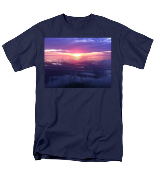 Men's T-Shirt  (Regular Fit) featuring the photograph Sunset On The Bay by Tiffany Erdman