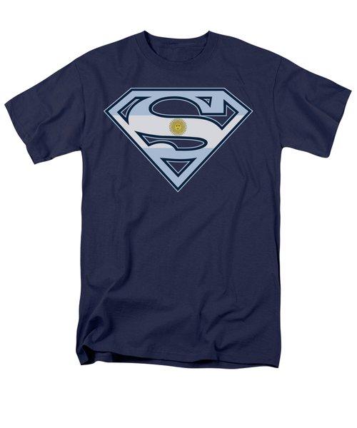 Superman - Argentinian Shield Men's T-Shirt  (Regular Fit) by Brand A