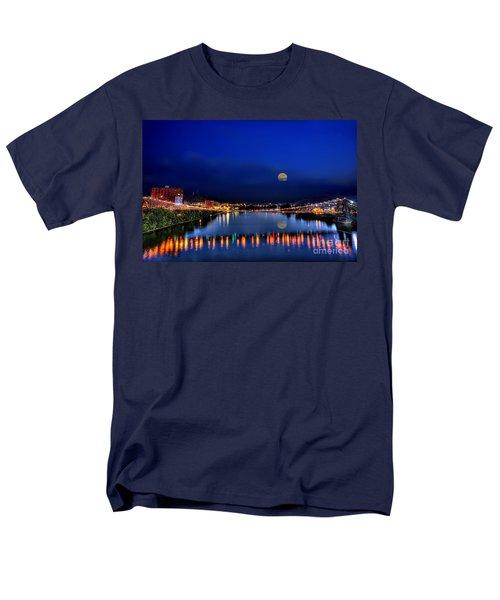 Suspension Bridge Men's T-Shirt  (Regular Fit) by Dan Friend