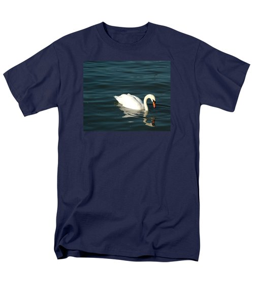 Men's T-Shirt  (Regular Fit) featuring the photograph Swan Elegance by Kathy Churchman