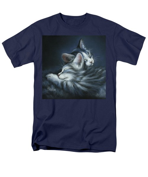 Men's T-Shirt  (Regular Fit) featuring the drawing Sweet Dreams by Cynthia House