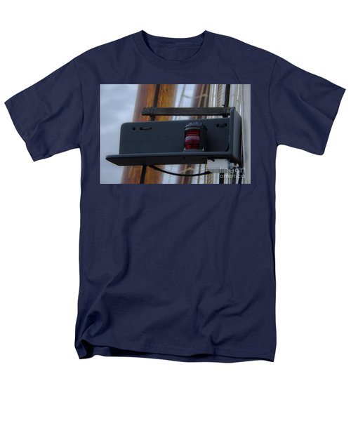 Tall Ship Bow Light Men's T-Shirt  (Regular Fit) by Dale Powell