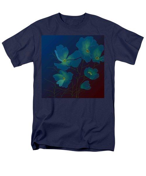 Tender Cosmos Men's T-Shirt  (Regular Fit) by Latha Gokuldas Panicker