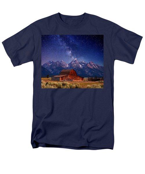 Teton Nights Men's T-Shirt  (Regular Fit) by Darren  White