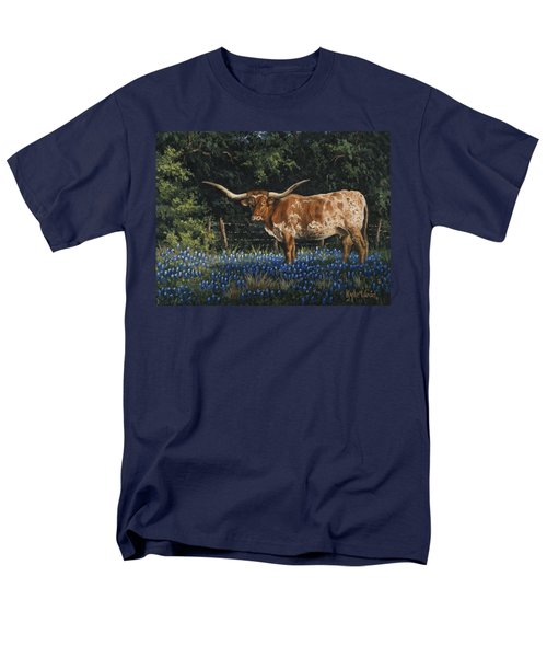Texas Traditions Men's T-Shirt  (Regular Fit) by Kyle Wood
