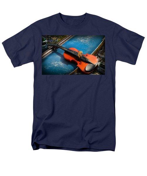 The Bridge Men's T-Shirt  (Regular Fit) by Alessandro Della Pietra